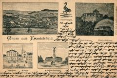 Gruß aus Kranichfeld - Verlag von Georg Hahn, Kranichfeld