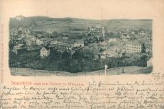 Kranichfeld nach dem Brande 26. März 1899 - Verlag v. K. Schüffler jr., Kranichfeld - Photogr. v. L. Held, Weimar