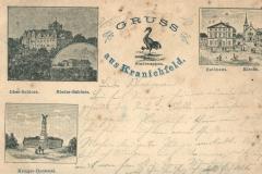 Gruss aus Kranichfeld - Verlag von Georg Hahn, Kranichfeld