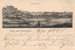 Gruss aus Kranichfeld - Carl Becker, Naumburg a.S.