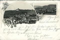 Gruss aus Kranichfeld - Carl Becker, Kunstanstalt, Naumburg a.S.