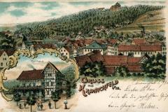 Gruß aus Kranichfeld i/Th - Putze & Hölzer, Weimar