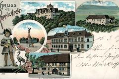 Gruss aus Kranichfeld - Carl Becker Kunstanstalt, Naumburg a.S.