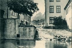 Kranichfeld i. Thüringen - Blick auf das Oberschloss - K. Schüffler, Kranichfeld