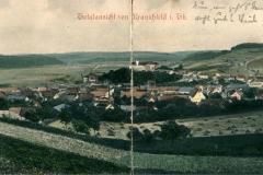 Totalansicht von Kranichfeld - Verlag  Georg Hahn