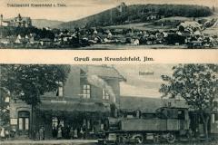 Gruß aus Kranichfeld, Ilm - Verlag Oskar Klopfleisch, Weimar