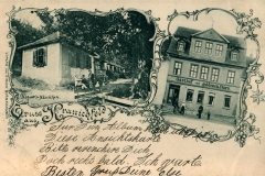 Gruß aus Kranichfeld - Verlag von A. Hack, Blankenhain