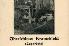 Oberschloss Kranichfeld (Zugbrücke) - Herausgeber unbekannt