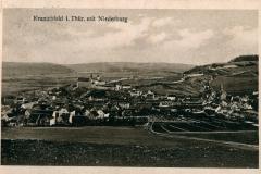 Kranichfeld i. Thür. mit Niederburg - Verlag  Georg Hahn