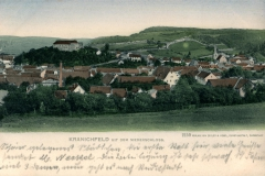 Kranichfeld mit dem Niederschloss - Verlag Zedler & Vogler, Darmstadt