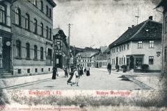 Kranichfeld i. Th. - Untere Marktstraße - Kunstanstalt Löffler & Co., Greiz