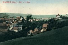 Kranichfekd (Thürg.) - Blick v. d. Stiede - Verlag  Georg Hahn