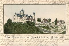 Das Oberschloss zu Kranichfeld im jahre 1682 - Herausgeber unbekannt
