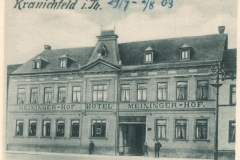 Hotel Meininger Hof - Heraugeber unbekannt
