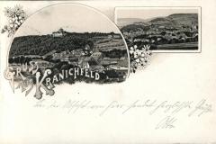 Gruß aus Kranichfeld - Carl Becker Kunstanstalt, Naumburg a.S.
