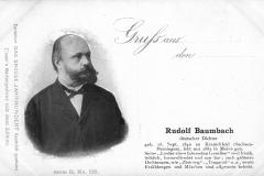 Gruß aus... den..., Rudolf Baumbach - Isser´s Seifenpulver mit dem Löwen