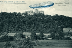 Kranichfeld (Thür.) Ober-Schloss, 30. Mai 1909, abends 9 Uhr 40 Min. - Verlag  Georg Hahn