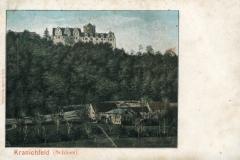 Kranichfeld (Schloss) - Verlag Aug.  Heinecke, Rudolstadt