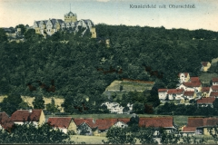 Kranichfeld mit Oberschloss - Karl Schüffler, Kranichfeld