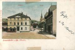 Kranichfeld i. Th. (Markt) - Verlag  Georg Hahn