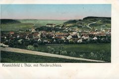 Kranichfeld i. Thür. mit Niederschloss -  Karl Schüffler, Kranichfeld