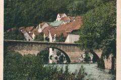 Kranichfeld i. Thür., Ilmpartie mit Ober-Schloss - Karl Schüffler, Kranichfeld