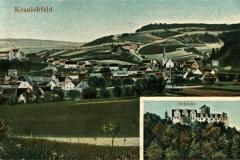 Kranichfeld, Schloss - Verlag Aug.  Heinecke, Rudolstadt