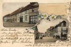 Obere und untere Marktstraße - Verlag G. Hahn, Kranichfeld