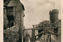 Kranichfeld i. Thür. , Oberschloss mit Zugbrücke - Karl Schüffler, Kranichfeld