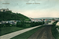 Kranichfeld, Oberschloss und Niederburg - Photogr. Anstalt W. Hartan, Weimar