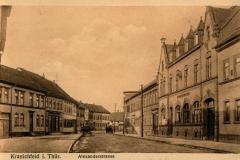 Kranichfeld i. Thür., Alexanderstrasse - Verlag Georg Hahn