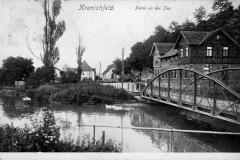Kranichfeld i. Th., Partie an der Ilm - Hof-Kunstanstalt Löffler & Co., Greiz