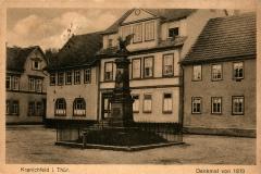 Kranichfeld i. Thür., Denkmal von 1870 - Herausgeber unbekannt