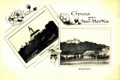 Gruss aus Bad Berka, Schloss Tonndorf, Kranichfeld - Herausgeber unbekannt