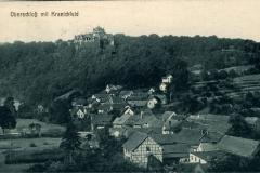 Oberschloß mit Kranichfeld - H. Rubin & Co. Dresden/Blasewitz