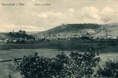 Kranichfeld i. Thür., Blick v. d. Harth - Karl Schüffler, Kranichfeld
