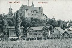 Kranichfeld, Niederschloss -  Verlag Aug.  Heinecke, Rudolstadt