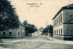 Kranichfeld i. Thür., Bahnhof-Straße - H. Rubin & Co. Dresden/Blasewitz