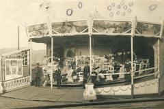 Karusell in der Ilmaue 1918 - Kriegsphotograph Oscar Taligmann, Eschwege